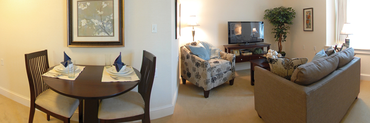 Apartment Layout at Connemara Senior Living